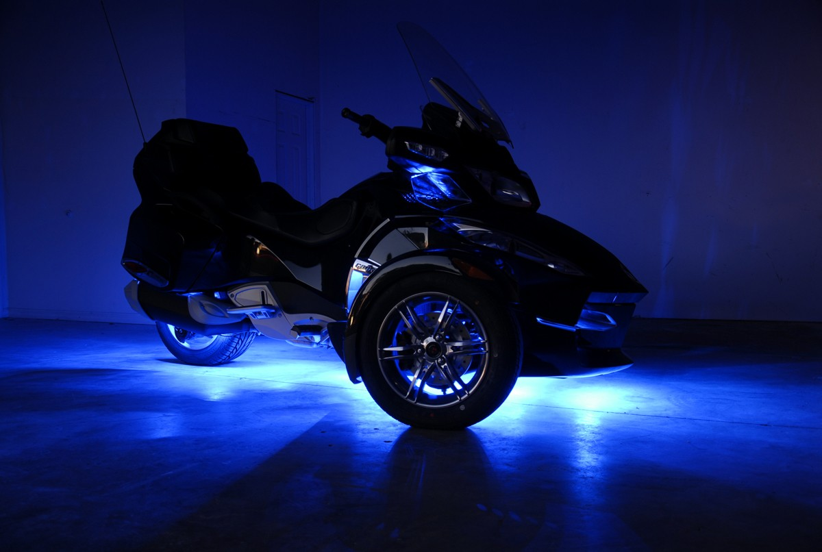 Brp Canam Spyder Rts Fusion 22 Color Led Lighting System